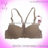 Front Closure South America Lace Back Transparent Bra Models