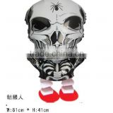 Hot sale skeleton man walking pet balloon,animal shape air walking pet balloon, Helium pet balloon for party/Child Gift
