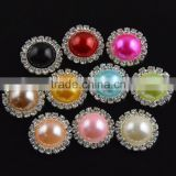 Colorful Handmade Pearl Embellishment,DIY Rhinestone Accessories For wedding invitations