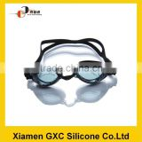 wholesale anti-fog safety silicone swimming goggle for adult