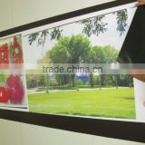 ferrous sheet,vinyl sheet,magnetic sheets with glossy vinyl,1000mm*0.4mm*20m,uv printer ok,high pull force