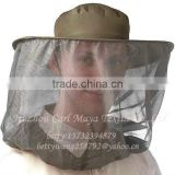 circular/round travel mosquito head net/army travel head net/insect head net/green head net