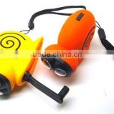 Hand crank animal shape dynamo charger