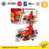 2015 new model Baby motorcycle 360 rotating Beach car with 3D flash kids plastic electric motorcycle toys