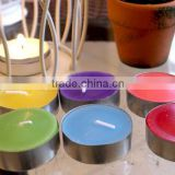 Popular product factory wholesale tealight candle in aluminum cups