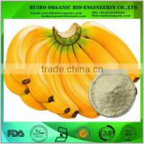 Dired green banana powder