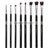 8 piece cosmetic make up eye liner eyebrow shadow lip brush set