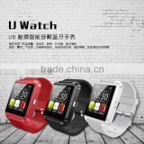 "New 1.48"" TFT LCD Touch Screen Bluetooth U8 smart watch for Smartphones IOS Android Apple Stopwatch function hand free call"
