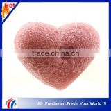 heart shape face-cleaning usage natural konjac sponge