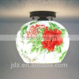 Morden Ceiling Light Beautiful Chandelier Jingdezhen Porcelain Light For Living Room Lighting Dining Room Hotel Ceiling Lamp