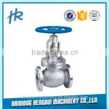 DN50 wafer type cast iron material pneumatic butterfly valve with CE and RoHS certificate