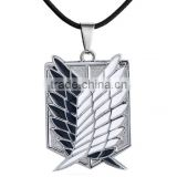 custom popular high quality anime Attack on Titan pendant necklace