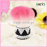 Beautiful Color Crystal sequins Shiny Kabuki Brush for Makeup Soft Synthetic Hair Fundation Makeup Brushes