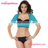 Fast delivery fitness breast and arm shaper bra