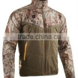 Motorbike jacket/Jean heated jacket wholesale/zipper Hood heated jackets/heating Jacket HYHJ-001