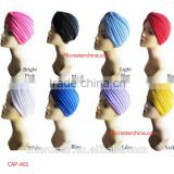 Adults Age Cotton Material Knitted Women Arabia Muslim Stretch Yoga Prayer Cap