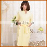 Promotion Dyed Mature Women Sexy Bathrobe