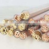 Small Hole Electrode Brass Tube EDM Brass Tube Single Hole
