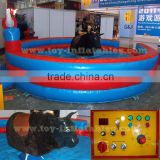 Inflatable mechanical bull riding machine for sale/mechanical bull ride for sale