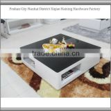 2013 brand new high shinny fashional marble inlay coffee tables