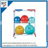 Trolley type multilayer toy ball display rack/wire/china suppliers/new products