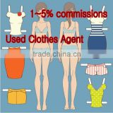 used second clothes buying agent