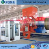 Fiberglass GRP Water Pipe Making Machine / Water Pipe Winding Production Line