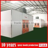 double layer water curtain spray booth with design service(professional manufacturer,CE,ISO)