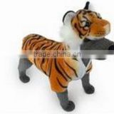 plush brown tiger pet coat dog clothes cat coat plush tiger pet cosplay costome plush pet clothes dog costumes cat cosplay coat