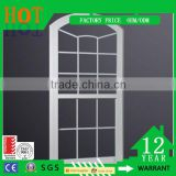 OEM Factory Price Aluminum Top Arched Hung Sliding Window Aluminum Security Grille Window For Sale