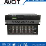 AV Remote Control, 24x16, 24 Signal Input, 16 Signal Output, Professional Audio Video Matrix Switcher