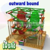 2016 free design kid playground model, 100% safe outdoor play structure, commercial grade children play games