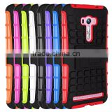 For Asus Zenfone Selfie ZD500KL ZD551KL Case Armor Heavy Duty Hybrid Rugged TPU Impact Kickstand Cover ShockProof