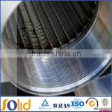 316 stainless steel wedge wire screen pipe