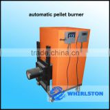 easy operating pellet burner
