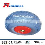 High Quality Puncture Proof PU Foam Wheels for Beach Cart 10''
