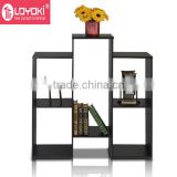 Staggered Cube Bookcase with 6 Shelves original design display shelf home furniture wood book rack