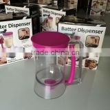 Plastic cupcake batter dispenser for kitchen,bakeware,cookie biscuit cake tools
