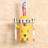 2017 hot new trending products minions automatic toothpaste dispenser plastic cartoon kids toothbrush holder