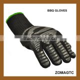 Amazon Silicon Heat Resistant Fireplace And Barbecue Pit Mitt BBQ Gloves,Kitchen Oven Use Heat Resistant Gloves