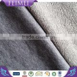 2016 New 100%cotton french terry knitted polyamide/spandex fabric for sport's wear