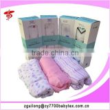 Hot sale 100% cotton baby muslin swaddle blanket
