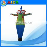 Outdoor smile clown air dancer, inflatable sky dancer