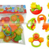 Baby Teether Toys Infant and Toddler Teething Pain Relief Baby Rattle