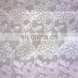 fashion wedding dress organza cotton lace fabric 2015