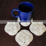 Nautical Rope Coaster hand-tied nautical rope coaster