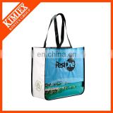 Plastic cheap printing foldable polyester shopping bag
