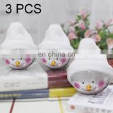 3 PCS Hang Ornament Christmas Snowman Balls toys christmas ornament