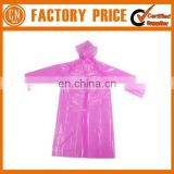 Best Sale Poncho Raincoat Customized Vinyl Raincoat Low Price