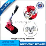 New Type Penumatic Badge Making Excellent Interchangeable Die Mould Badge Maker Button Making Machine